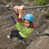 Rock climbing at Skaha Bluffs