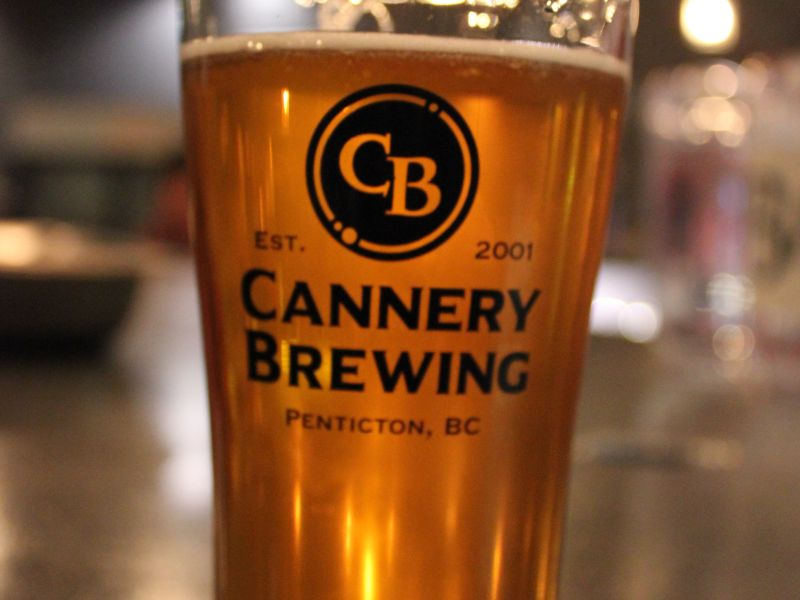 Cannery Brewing - Glass of beer