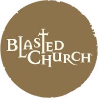 blasted church winery logo