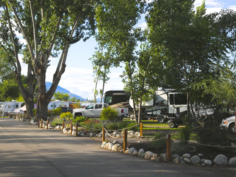 RV Campground BC