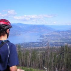 Cycling the KVR Trail