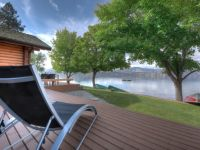 Sandy Beach - Lake View from Cottage Deck