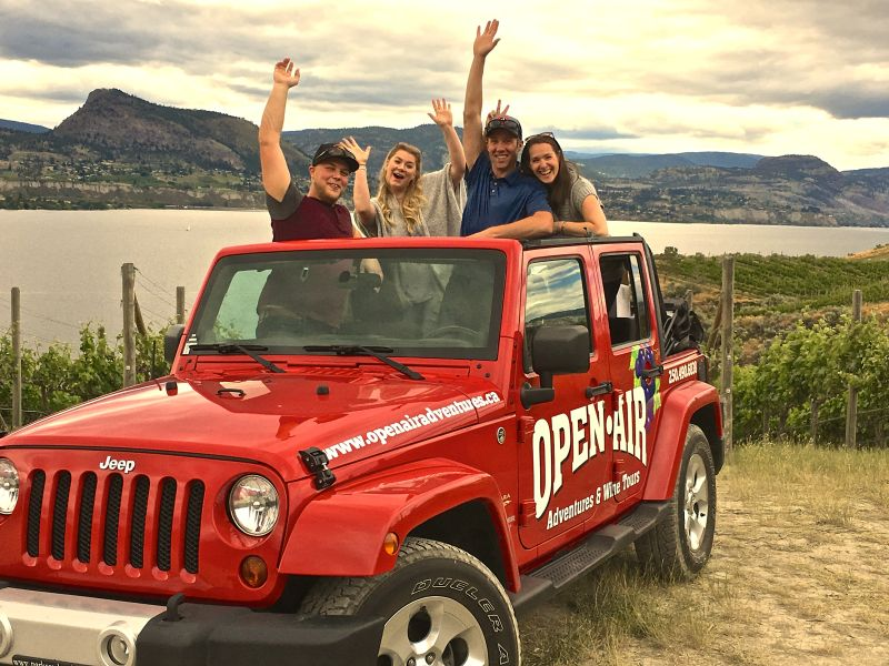 Open Air Adventures & Wine Tours