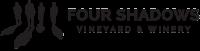 four shadows vineyard winery logo