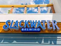 Slackwater Brewing Sign