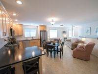 Penticton Suite by the Creek living kitchen and dining area