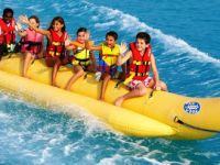 Castaways Watersports banana boat