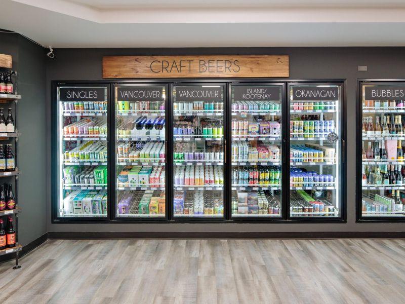 martin street liquor merchants store, craft beer selection