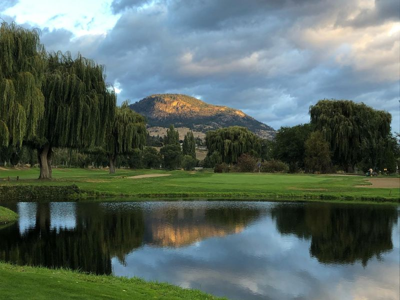 Penticton Golf & Country Club water