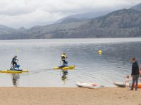 sea legs water bikes on skaha lake