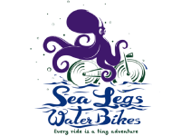 sea legs water bikes logo