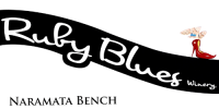 ruby blues winery logo