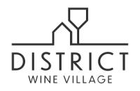 district wine village logo