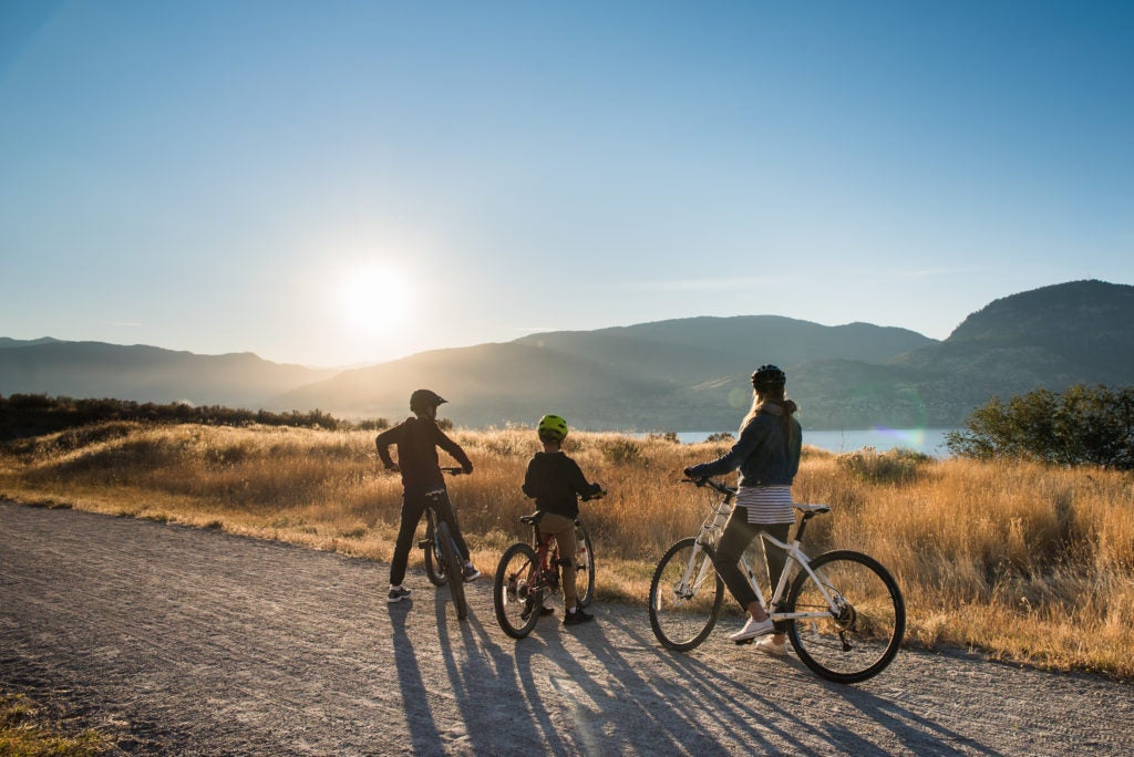 Biking the Kettle Valley Railway