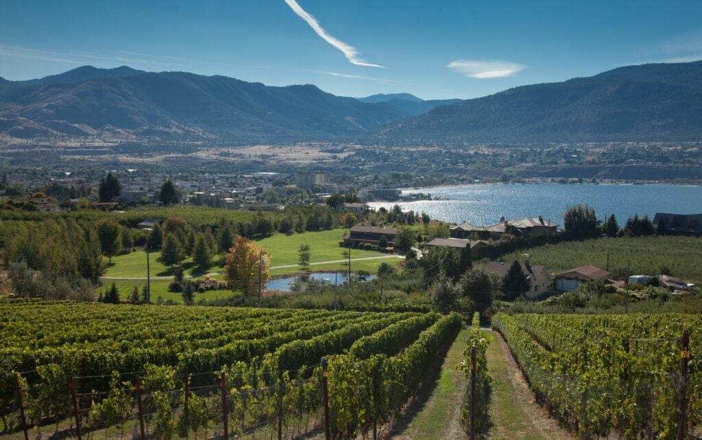 View of Penticton from Poplar Grove Winery