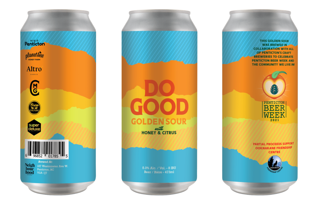 Do Good Golden Sour Collaboration Beer
